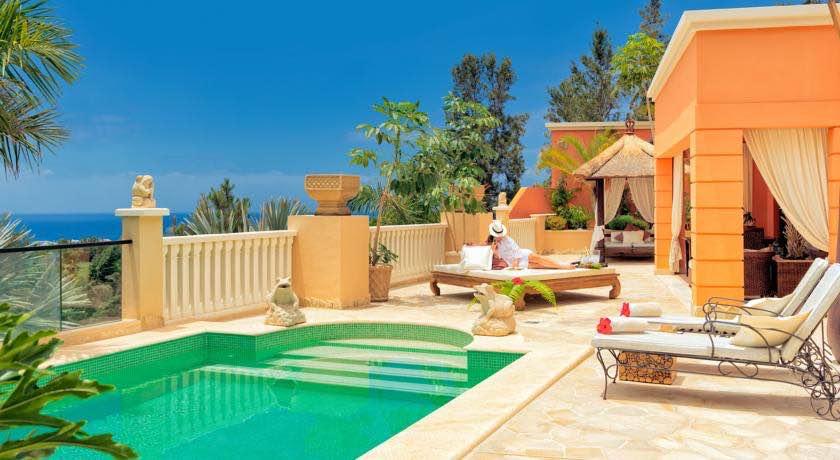 Habitaciones con piscina privada en tenerife for Hotel piscina habitacion