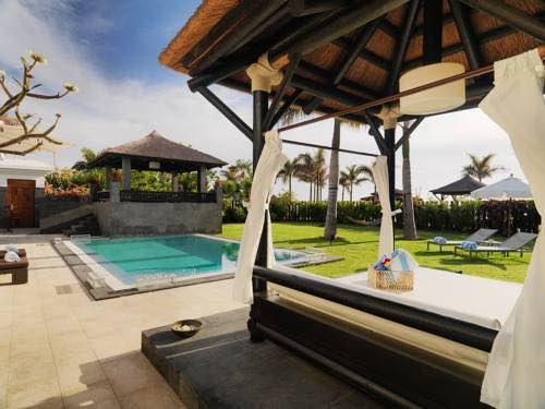 Villa con piscina privada climatizada en red level at gran melia tenerife adults only - Habitacion piscina climatizada privada ...